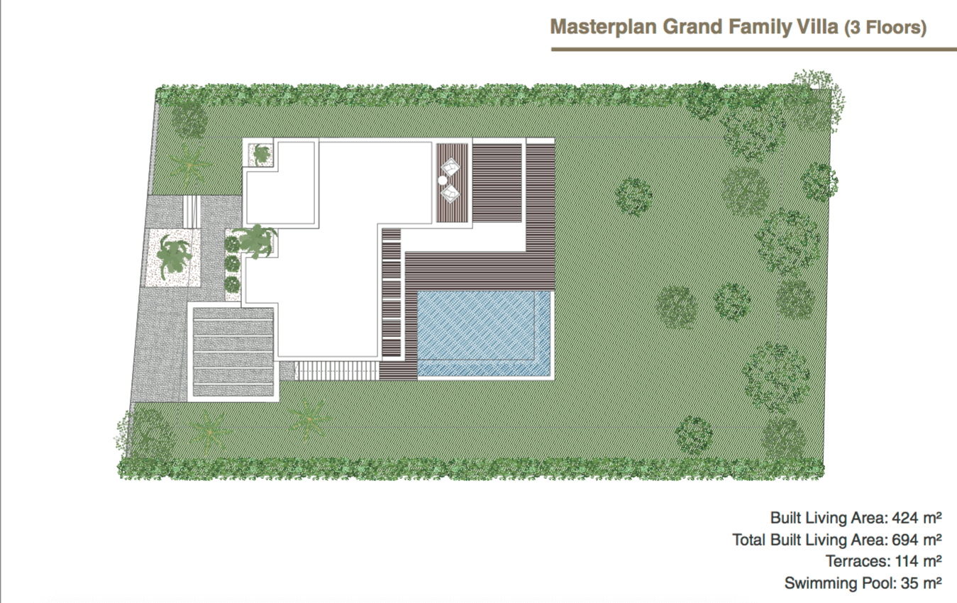 the view villas selwo nieuwbouw project modern te koop zeezicht laguna village off plan masterplan grand family villa
