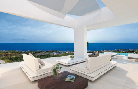 The View: rustig maar centraal gelegen villaproject met zeezicht (Selwo)