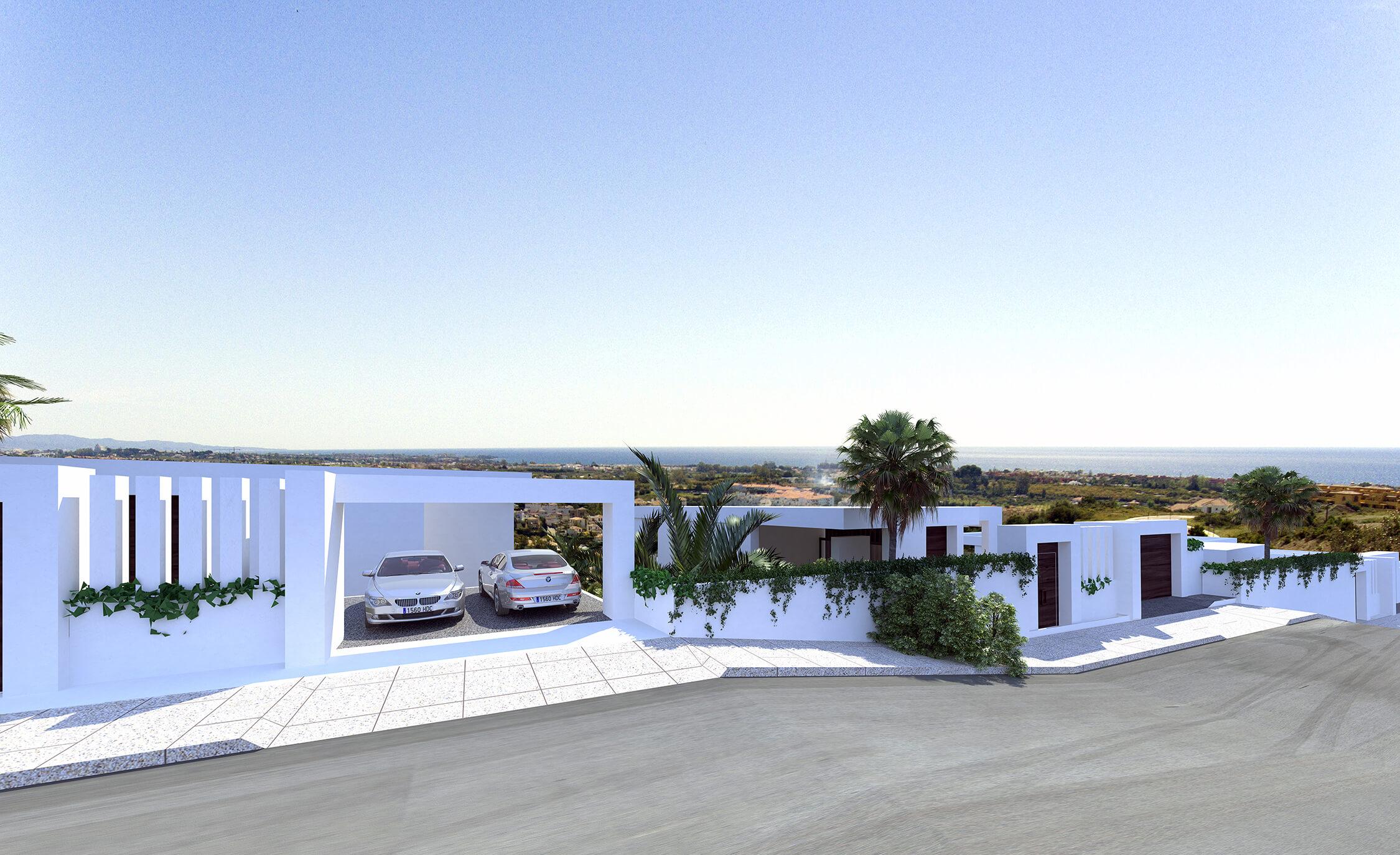 The view: rustig maar centraal gelegen villaproject met zeezicht selwo