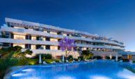 valley homes valle romano golf resort estepona costa del sol modern nieuwbouw appartement penthouse kopen zeezicht gemeenschappelijk zwembad