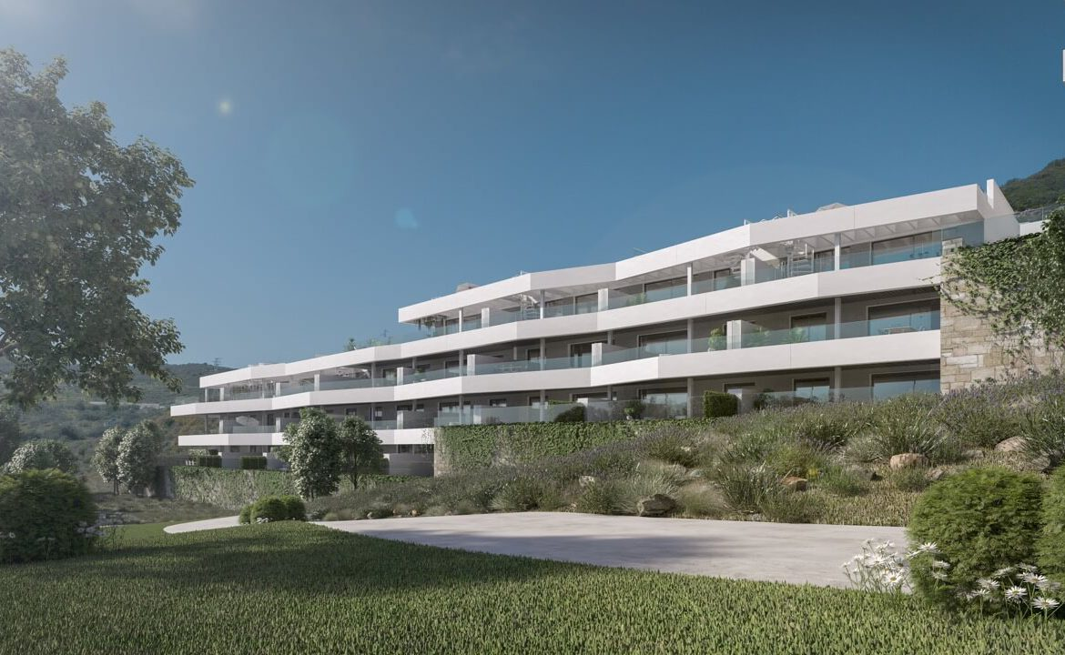 valley homes valle romano golf resort estepona costa del sol modern nieuwbouw appartement penthouse kopen zeezicht project