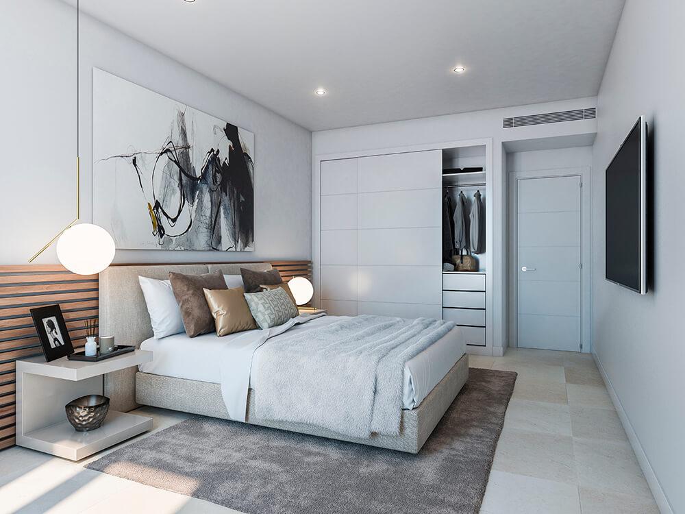 valley homes valle romano golf resort estepona costa del sol modern nieuwbouw appartement penthouse kopen zeezicht slaapkamers