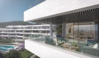 valley homes valle romano golf resort estepona costa del sol modern nieuwbouw appartement penthouse kopen zeezicht terras