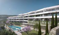 valley homes valle romano golf resort estepona costa del sol modern nieuwbouw appartement penthouse kopen zeezicht zwembad
