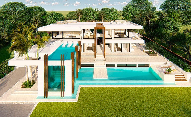 villa atalaya beste deal alqueria golf benahavis new golden mile zeezicht modern off plan nieuwbouw