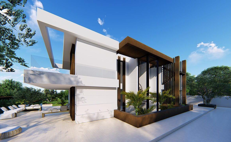 villa atalaya beste deal alqueria golf benahavis new golden mile zeezicht modern off plan nieuwbouw carport