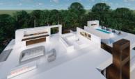villa newly build off plan benahavis golf atalaya alqueria sea views for sale roofterrace
