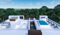villa newly build off plan benahavis golf atalaya alqueria sea views for sale roofterrace bar