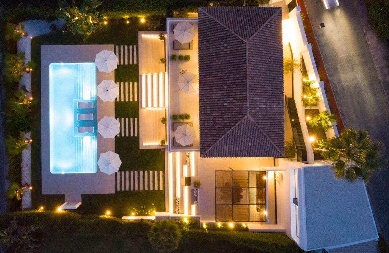 moderne villa milano nueva andalucia marbella costa del sol bergzicht zeezicht te koop luxe grondplan