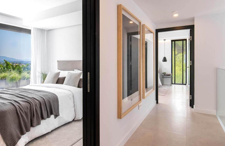 moderne villa milano nueva andalucia marbella costa del sol bergzicht zeezicht te koop luxe nachthal