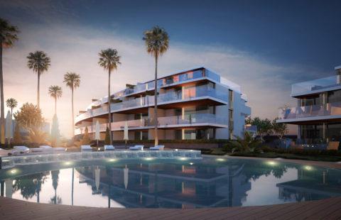 One Residences: 77 frontline golf appartementen in La Cala de Mijas