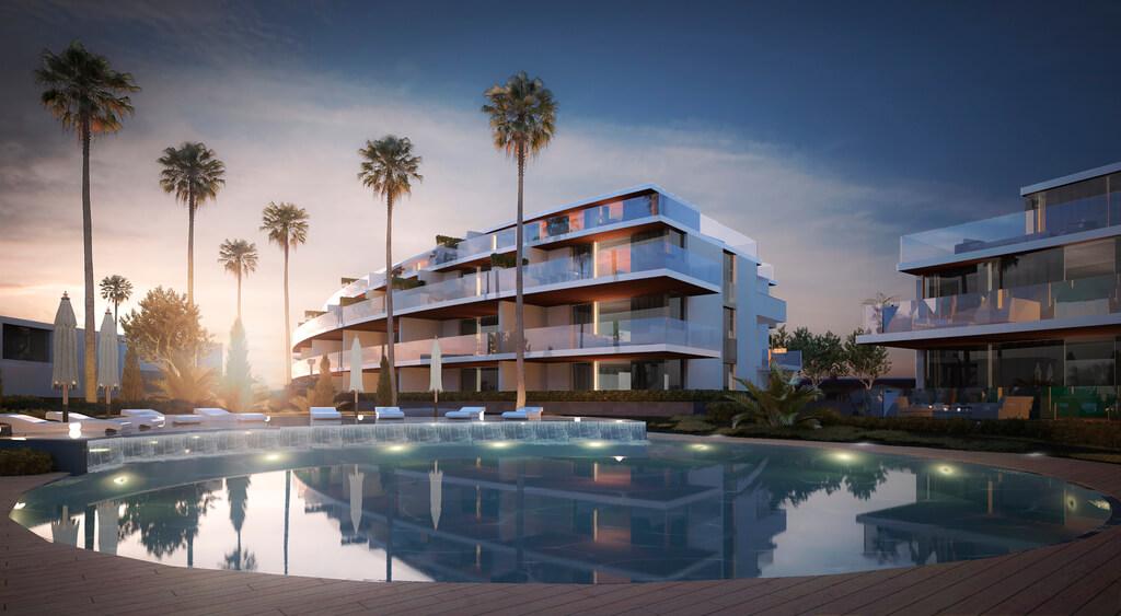 one calanova residences appartement te koop penthouse zeezicht nieuwbouw modern golf project