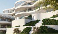 the view marbella zeezicht panoramisch zicht futuristisch modern nieuwbouw benahavis luxe exclusief concierge appartement golf