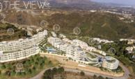 the view marbella zeezicht panoramisch zicht futuristisch modern nieuwbouw benahavis luxe exclusief concierge appartement golf masterplan