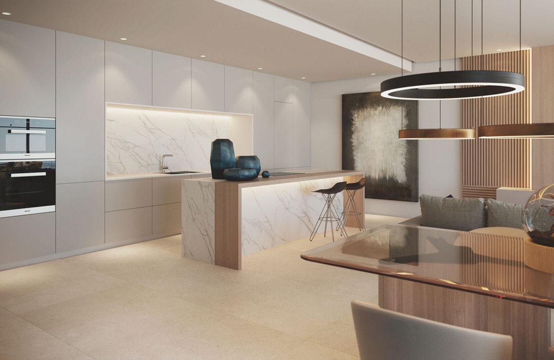 the view marbella zeezicht panoramisch zicht futuristisch modern nieuwbouw benahavis luxe exclusief concierge keuken