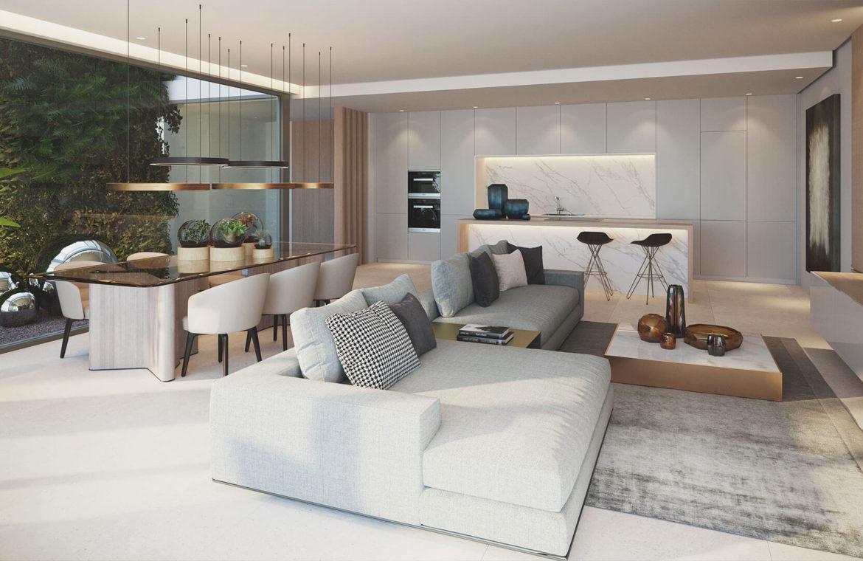 the view marbella zeezicht panoramisch zicht futuristisch modern nieuwbouw benahavis luxe exclusief concierge salon