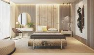 the view marbella zeezicht panoramisch zicht futuristisch modern nieuwbouw benahavis luxe exclusief concierge slaapkamer