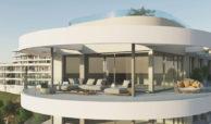 the view marbella zeezicht panoramisch zicht futuristisch modern nieuwbouw benahavis luxe exclusief concierge terras