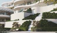 the view marbella zeezicht panoramisch zicht futuristisch modern nieuwbouw benahavis luxe exclusief concierge tuin