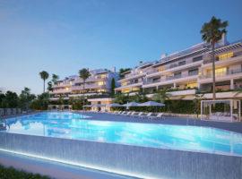 oceana views invest spain bromley cancelada estepona new golden mile marbella zeezicht appartementen penthouses zeezicht golf wandelafstand te koop complex