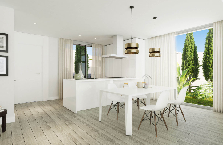oceana views invest spain bromley cancelada estepona new golden mile marbella zeezicht appartementen penthouses zeezicht golf wandelafstand te koop keuken