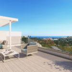 oceana views invest spain bromley cancelada estepona new golden mile marbella zeezicht appartementen penthouses zeezicht golf wandelafstand te koop solarium
