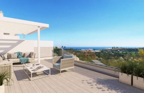 Oceana Views: penthouse op wandelafstand van dorpskern (Cancelada)
