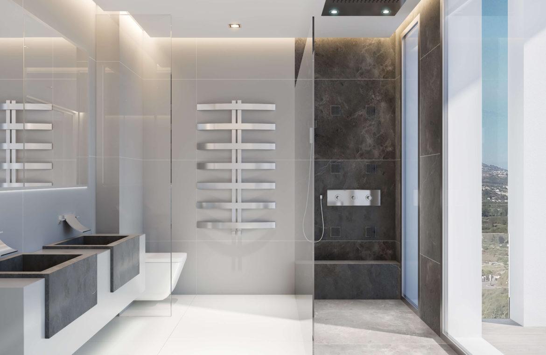 phoenix resort la cala golf kleinschalig luxe exclusief appartement penthouse kopen nieuwbouw modern spa gym concierge omheind badkamer