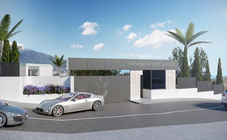 phoenix resort la cala golf kleinschalig luxe exclusief appartement penthouse kopen nieuwbouw modern spa gym concierge omheind beveiligd
