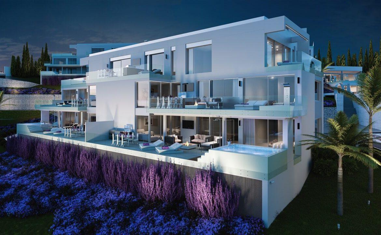 phoenix resort la cala golf kleinschalig luxe exclusief appartement penthouse kopen nieuwbouw modern spa gym concierge omheind design