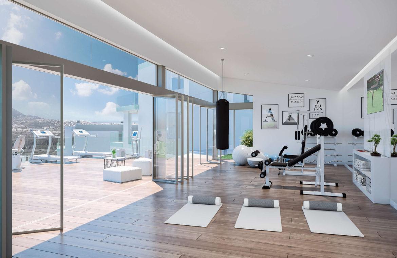 phoenix resort la cala golf kleinschalig luxe exclusief appartement penthouse kopen nieuwbouw modern spa gym concierge omheind gym