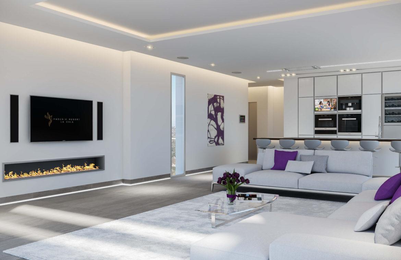 phoenix resort la cala golf kleinschalig luxe exclusief appartement penthouse kopen nieuwbouw modern spa gym concierge omheind haard