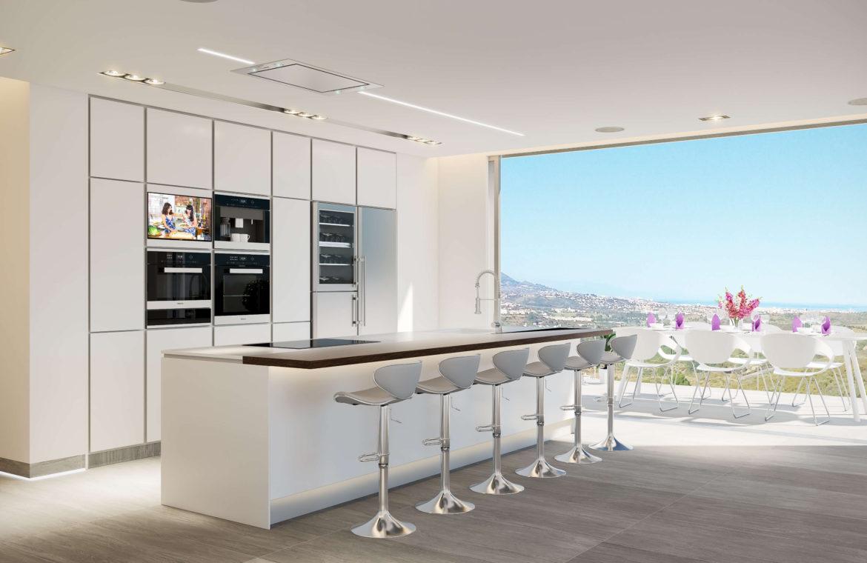 phoenix resort la cala golf kleinschalig luxe exclusief appartement penthouse kopen nieuwbouw modern spa gym concierge omheind keuken