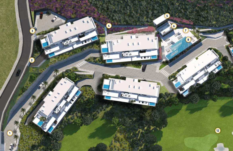 phoenix resort la cala golf kleinschalig luxe exclusief appartement penthouse kopen nieuwbouw modern spa gym concierge omheind masterplan