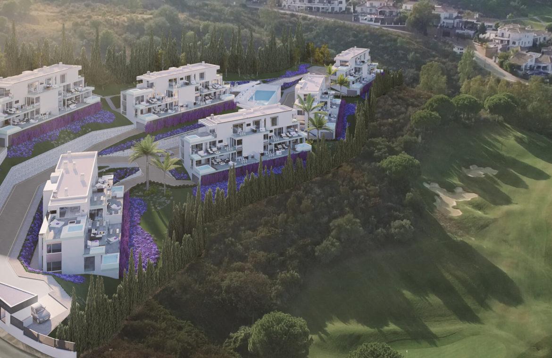 phoenix resort la cala golf kleinschalig luxe exclusief appartement penthouse kopen nieuwbouw modern spa gym concierge omheind project