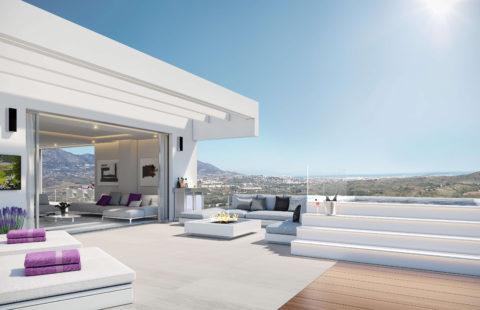Phoenix Resort: exclusieve boetiek golf penthouses met zeezicht (La Cala)