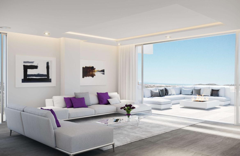 phoenix resort la cala golf kleinschalig luxe exclusief appartement penthouse kopen nieuwbouw modern spa gym concierge omheind salon