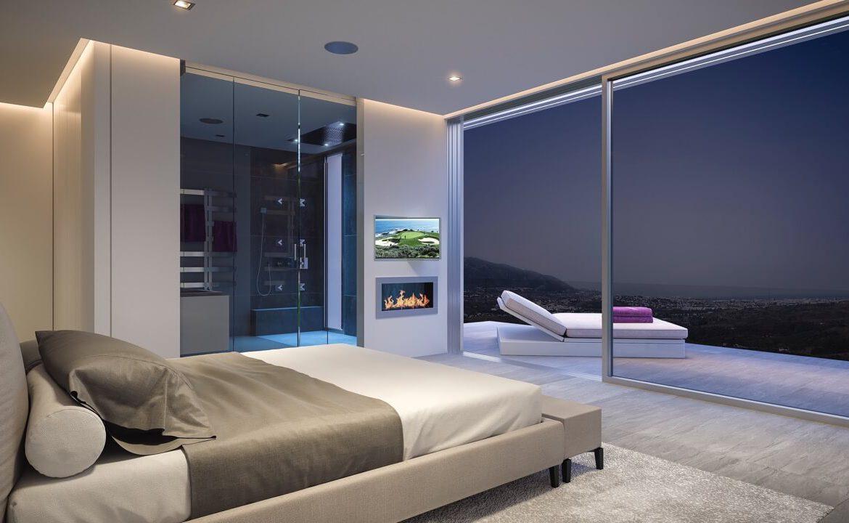 phoenix resort la cala golf kleinschalig luxe exclusief appartement penthouse kopen nieuwbouw modern spa gym concierge omheind slaapkamer