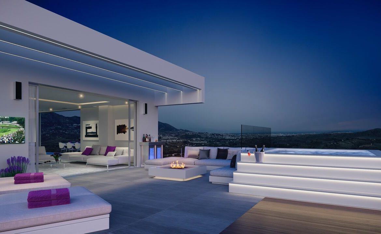 phoenix resort la cala golf kleinschalig luxe exclusief appartement penthouse kopen nieuwbouw modern spa gym concierge omheind terras