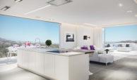 phoenix resort la cala golf kleinschalig luxe exclusief appartement penthouse kopen nieuwbouw modern spa gym concierge omheind zichten