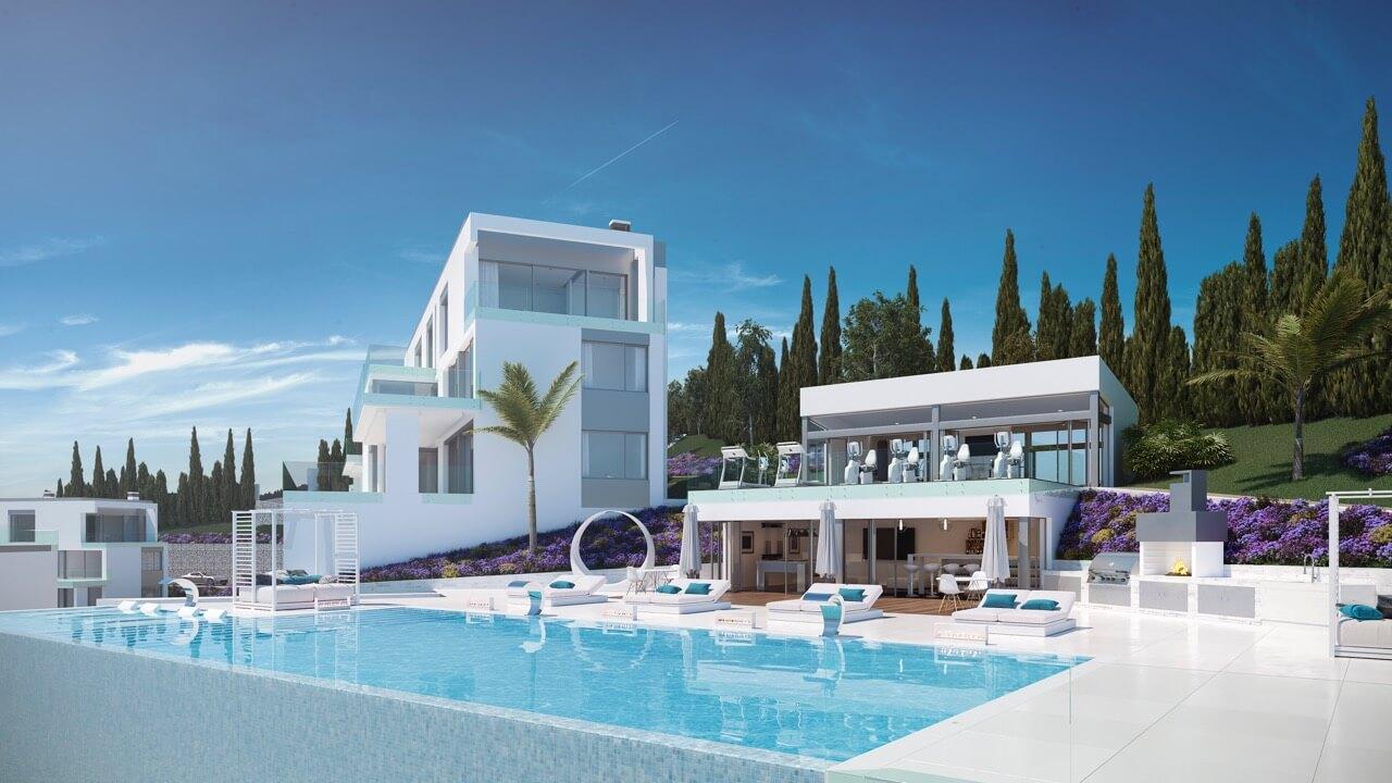 phoenix resort la cala golf kleinschalig luxe exclusief appartement penthouse kopen nieuwbouw modern spa gym concierge omheind zwembad