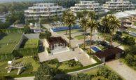 velaya new golden mile estepona marbella eerstelijns zee strand zeezicht exclusief appartement te koop padel