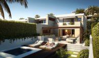 velaya new golden mile estepona marbella eerstelijns zee strand zeezicht exclusief appartement te koop prive zwembad