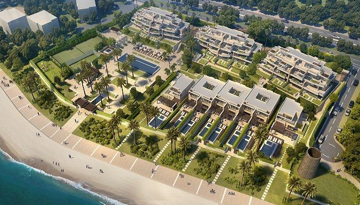 velaya new golden mile estepona marbella eerstelijns zee strand zeezicht exclusief appartement te koop