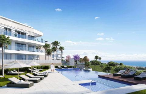 Vitta Nature: nieuwbouw met zeezicht op wandelafstand van alles (Mijas)