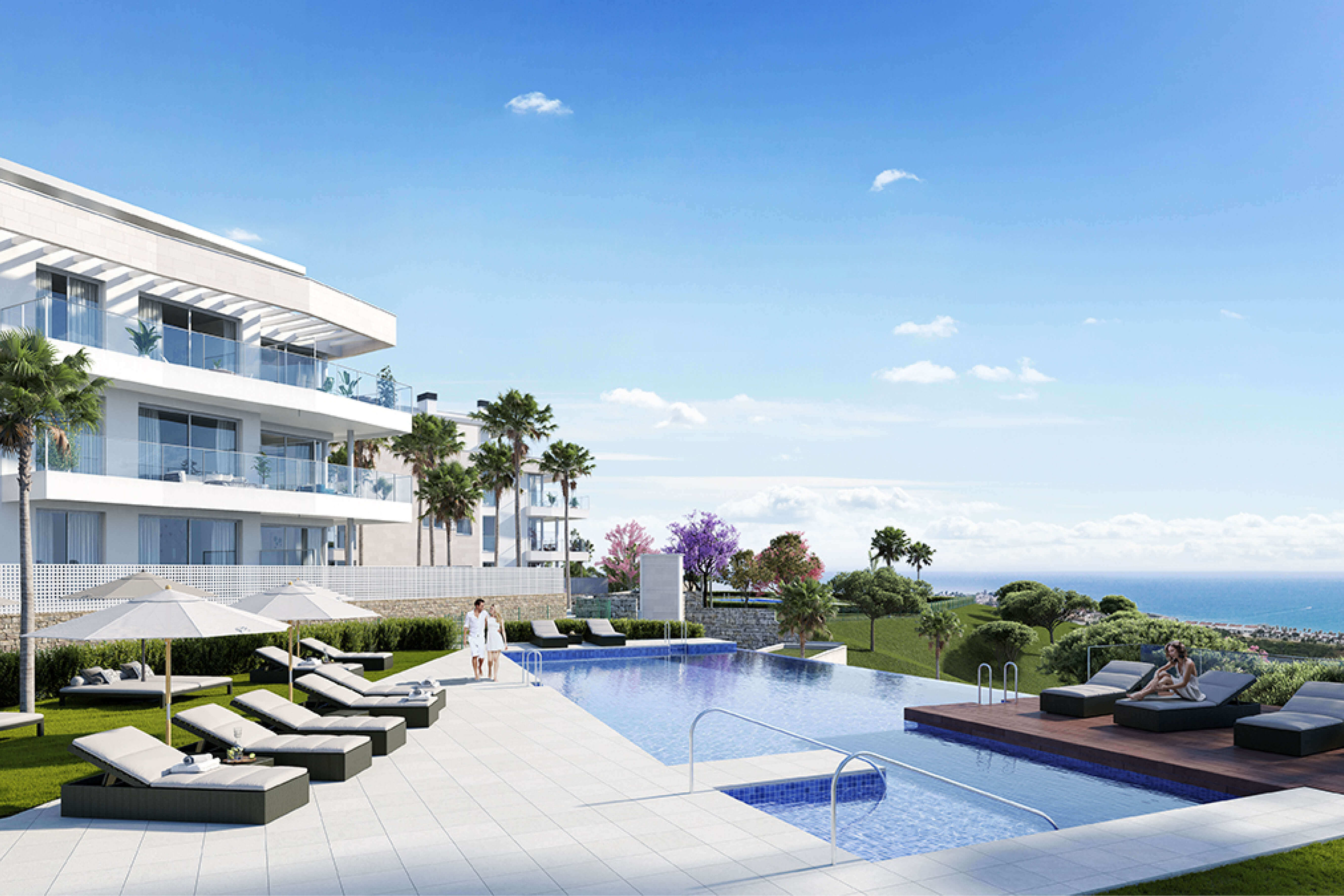 vitta nature mijas oost marbella golf zee chaparral modern nieuwbouw zeezicht