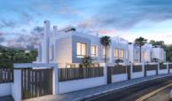 west beach estepona wandelafstand strand zee huis woning nieuwbouw geschakeld modern project