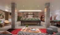 be lagom moderne villa kopen marbella benahavis zeezicht nieuwbouw game room