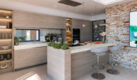 be lagom moderne villa kopen marbella benahavis zeezicht nieuwbouw keuken