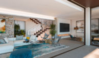be lagom moderne villa kopen marbella benahavis zeezicht nieuwbouw open plan